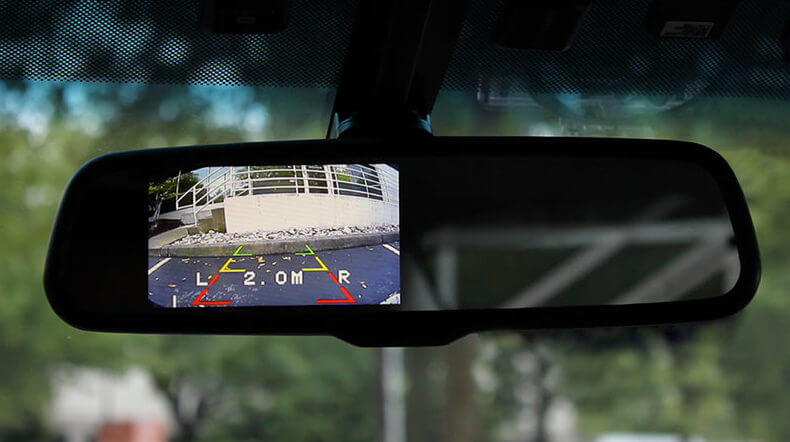 In-Mirror Backup Camera